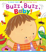 BUZZ BUZZ BABY A KAREN KATZ LIFT-THE FLAP BOOK 硬頁翻翻書 (OS小舖)
