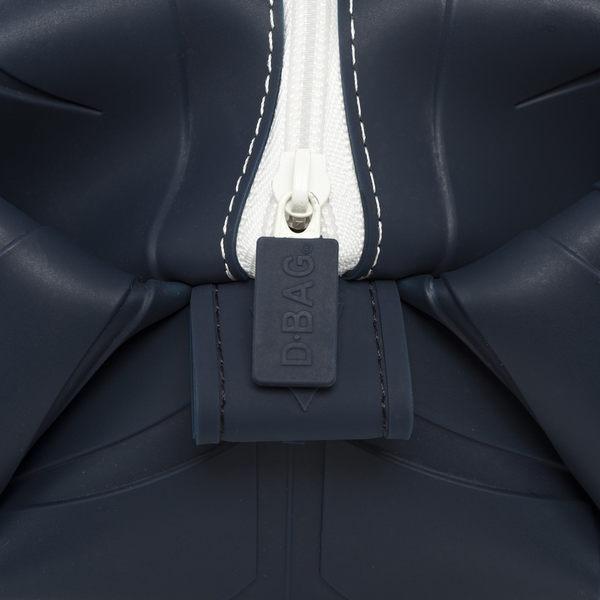 矽膠(防輪胎皮紋路)-旅行盥洗包-深藍色