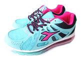『雙惠鞋櫃』◆DIADORA迪亞多那 ◆ 減壓防臭緩衝 抗壓 女款大童氣墊運動慢跑鞋◆ (DA2686) 藍紅