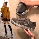 帆布鞋女鞋2018新款百搭正韓學生帆布鞋運動鞋子