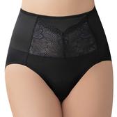 思薇爾-撩波系列M-XXL蕾絲高腰三角修飾褲(黑色)