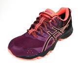 ASICS 亞瑟士GEL-SONOMA 3 女 防水GORE-TEX-輕量 越野 慢跑鞋 T777N-3290(紫/橘紅)陽光樂活]