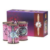 【車輪牌】墨西哥頂級鮑魚罐頭 禮盒3罐裝 (1粒半)