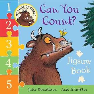 【幼兒拼圖書】MY FIRST GRUFFALO:CAN YOU COUNT? /拼圖+數數