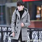 棉衣男士中長款冬季外套2020年新款潮流加厚棉襖冬天羽絨棉服男裝「時尚彩紅屋」