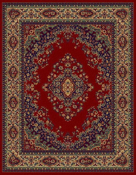 范登伯格 艾美樂進口優質地毯-花園50x80cm