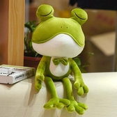 聖誕禮物 公仔 超萌軟體青蛙玩偶可愛毛絨玩具睡覺抱布娃娃聖誕節交換禮物 優惠兩天