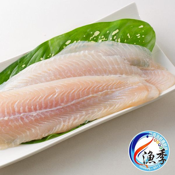 漁季-鮮嫩鯰魚片3包(1000g/包)