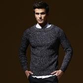 長袖針織衫-經典純色百搭設計男針織毛衣3色73ik24[時尚巴黎]