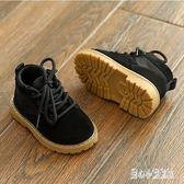 男童馬丁靴 冬靴馬丁靴小童鞋1-3歲女童春秋冬季男童0-2軟底嬰兒短靴子 CP5418【甜心小妮童裝】
