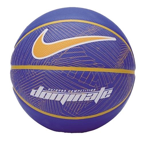 NIKE DOMINATE 7號籃球(藍橘)【愛買】