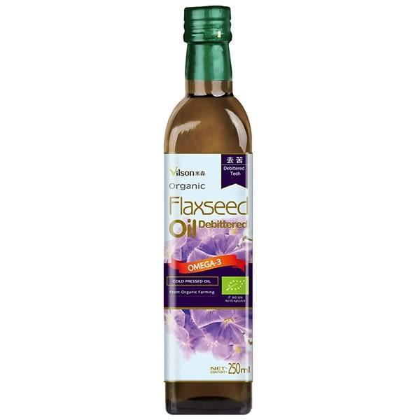 【米森 】有機冷壓亞麻籽油(250ml)