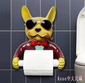 創意廚房衛生間卷紙架免打孔浴室廁所廁紙架手紙盒衛生紙架紙巾架 XN3211【Rose中大尺碼】