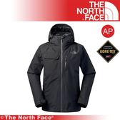 【The North Face 男 GTX防水外套(可套接)《黑》】3KT2-JK3/保暖外套/連帽外套/戶外登山
