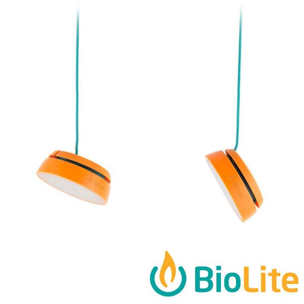 【美國BioLite】Sitelight 串燈 /二顆燈 /USB Outdoor Techies 充電 環保 節能 行動電源 露營 SLA2001