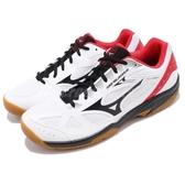Mizuno 排羽球鞋 Sky Blaster 白 黑 生膠底 基本款 運動鞋 男鞋 女鞋【PUMP306】 71GA1945-09