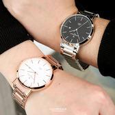 范倫鐵諾˙古柏 簡約刻度不鏽鋼錶【NEV33】正品原廠公司貨