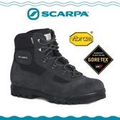 【SCARPA 義大利 GORE-TEX登山鞋《鐵灰》】60023E/防水透氣/高筒/黃金底/建行鞋