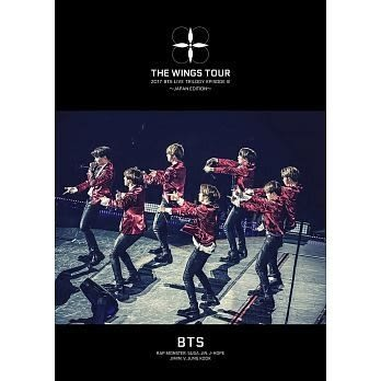 BTS防彈少年團 2017 BTS LIVE 雙DVD TRILOGY EPISODE III THE WINGS TOUR ~JAPAN EDITION~