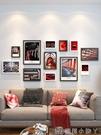 照片牆自黏貼免打孔客廳牆上裝飾相框創意掛...