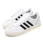 adidas 休閒鞋 Gradas 白 黑 奶油底 愛迪達 Neo 男鞋 基本款 三條線 【ACS】 FW9362