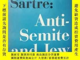 二手書博民逛書店Anti-Semite罕見and Jew(反猶主義與猶太人)薩特