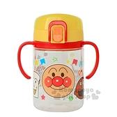 〔小禮堂〕麵包超人 幼兒彈蓋雙耳學習杯《紅黃.大臉》250ml.水壺.水杯 4903320-04184