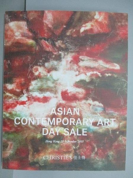 【書寶二手書T6/收藏_QCY】Christie s_Asian Contemporary Art Day Sale_2
