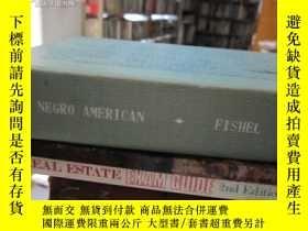 二手書博民逛書店The罕見Negro American: A Documenta