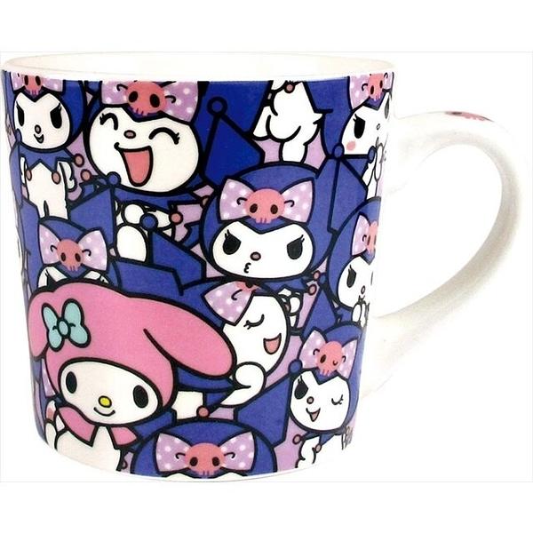 小禮堂 酷洛米 陶瓷馬克杯 (滿版款) 4548626-14231