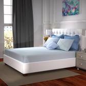 接觸涼感床包枕套組 (枕套x2、床包x1) 綠色風格款 雙人尺寸