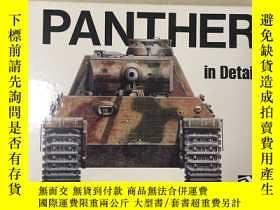 二手書博民逛書店Panther罕見in Detail (英語) 精裝Y32110