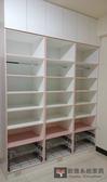 【系統家具】 多功能開放式收納櫃/ 櫥櫃