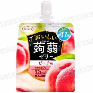 日本taram果汁蒟蒻飲便利包水蜜桃