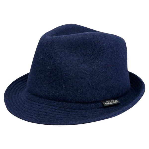 [好也戶外]mont-bell FELT SHORT BRIM HAT羊毛帽/炭灰/海軍藍/深綠 No.2108176-HCH/DKNV/DGN