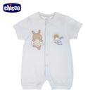 chicco-提織透氣短袖兔裝-陽光小兔