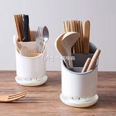 筷子筒  素色筷子籠筷筒廚房日式置物架創意塑料家用筷籠筷子筒筷子架  瑪奇哈朵