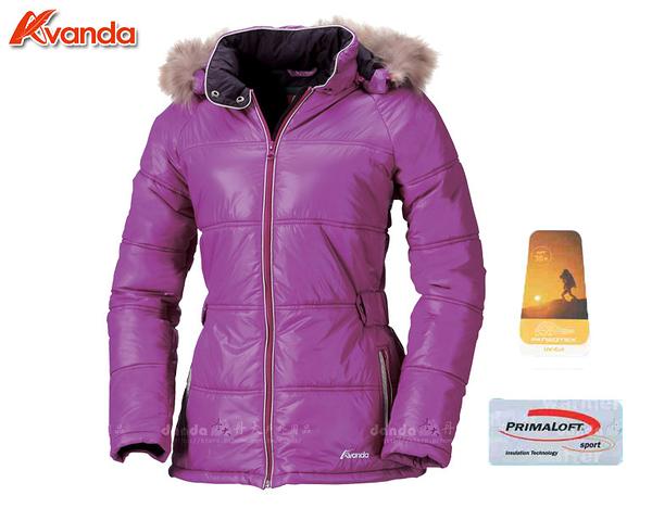 丹大戶外【Avanda】 雅帆達女PRIMALOFT經典防風外套 Primaloft保暖纖維/防風 AD11802-58