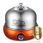 全不銹鋼煮蛋器多功能蒸蛋器 大容量自動斷電蒸蛋機 樂活生活館