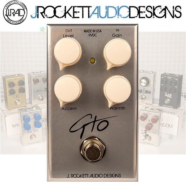 【非凡樂器】J.RAD GTO 破音 / 失真效果器 / J.Rockett美國手工製 / 贈導線 公司貨保固