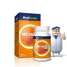 專品藥局 百仕可 BOSCOGEN MEGA能量B錠 60粒 (美國原裝進口維他命B群,優於克補)