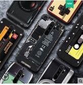 【萌萌噠】Xiaomi 紅米 Note8 Pro 復古偽裝保護套 全包軟殼 A11x 懷舊彩繪 創意新潮 錄音帶手機殼