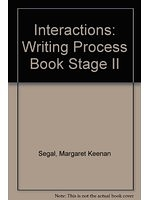二手書博民逛書店 《Interactions: Writing Process Book Stage II》 R2Y ISBN:0071143742│MargaretSegal