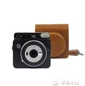 一次成像相機SQ6相機包PU皮料相機包保護套單肩包SQ6合身 多色小屋