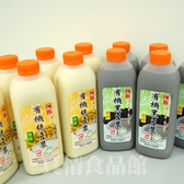 傳貴有機微甜豆漿組合12瓶-採用有機認證之黃豆研製,口味香濃、健康又美味!
