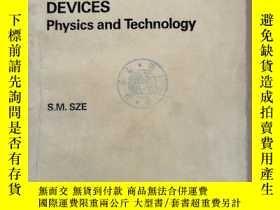 二手書博民逛書店semiconductor罕見devices physics and technology(P848)Y173