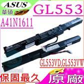 ASUS 電池(原廠)-華碩 A41N1611,GL553電池,GL553VD,GL553VW,GL553V電池,GL553VE,0B110-00470000