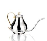 咖啡壺 不銹鋼咖啡壺細口工廷壺復古手沖壺手沖咖啡常用工具咖啡具 mks雙12