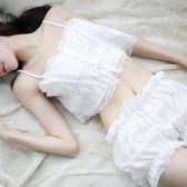情趣內衣性感三點式女睡衣透視裝小胸夜火激情用品套裝公主制服騷 草莓妞妞