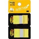 《享亮商城》681N-5D 黃色 可再貼抽取式標籤 3M